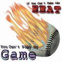 Can't Take the Heat Baseball Tee Shirt