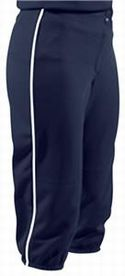 Low Rise 12 Oz Piped Softball Pants